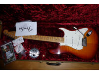 FENDER USA SELECT STRATOCASTER. P/X POSSIBLE.