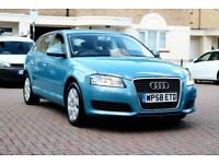 AUDI A3 1.6 SE AUTOMATIC 5DR HATCHBACK FSH HPI CLEAR 2 KEYS EXCELLENT CONDITION