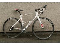 Merida Ride 93 Full Carbon Fibre Road Racing Bike Cycle Shimano Groupset Di Ready
