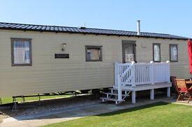 Luxury family holiday caravan, Weymouth Bay.