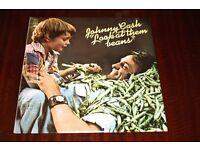 Johnny Cash Look At Them Beans Vinyl LP Record