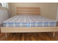 Double frame and matress