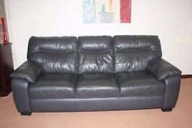 3 Seated leather sofa £ 80 or any good offer