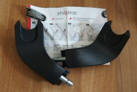NEW Phil and Teds Smart 3.0 Pushchair Buggy Car Seat Adapters