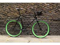 Christmas sale!!! Steel Frame Single speed road bike track bike fixed gear racing fixie bicycle a3