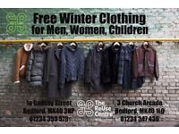 Free Winter Clothing for those in need