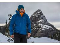 Arcteryx Alpha SV goretex pro jacket/pants/baselayer new tagged in poseidon blue