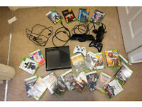 Xbox 360 bundle with 21 games and Kinect