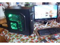 New Gaming PC Quad Core A10-7800 3.5GHz 8GB RAM 1TB 4GB Dual Graphics