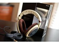 Sennheiser HD 598 Over-Ear Headphones - Cream