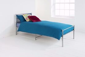 Brand New 3ft Single Metal Bed Frame with metal rod base, Mattress of choice available