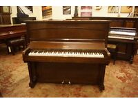 Over strung upright piano, ideal for beginners and tuned to concert pitch. UK delivery is available