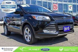 2015 Ford Escape SE SIRIUS FM HTD SEATS BACKUP CAM FORD CERTIFIE