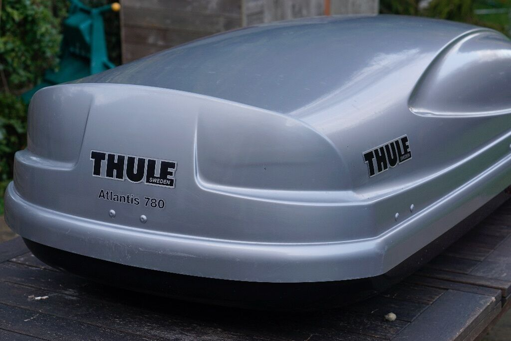 thule atlantis 780 roof box in aylesbury. Black Bedroom Furniture Sets. Home Design Ideas