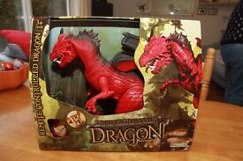 Mighty Megasaur Dragon - Remote controlled - Red
