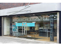 Robert Ari Hairdressing require hairdressers to join our team in Whetstone North London