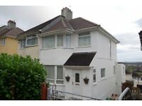 3 Bedroomed semi-detached House (& Garage), Weston Mill, Plymouth