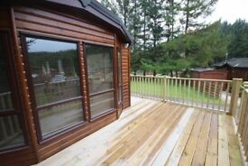 Lodge for holiday rental - Glendevon Country park