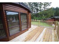 Lodge for holiday rental - Glendevon Country park