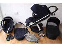 Mamas and Papas sola 2 pram 3 in 1 - can post -