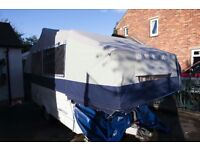 Conway cruiser, 2005 6 berth Trailer tent