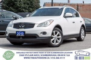 2010 Infiniti EX35 AWD BackupCam Bluetooth