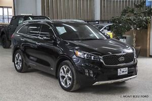 2016 Kia Sorento 3.3L SX 7-Seater/AWD  w/NAV, PANORAMIC ROOF