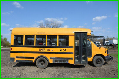 2008 Chevrolet Express Mini School Bus - No Reserve Auction!