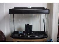 64l Interpret Fish Tank w/ Heater + Accessories