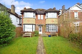 A newly refurbished three bed maisonette with garden and modern furnishings close to local transport