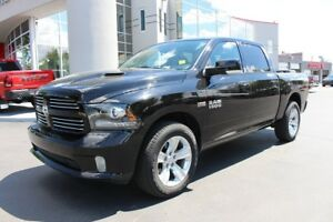 2014 RAM 1500 Sport 4X4 - LEATHER - SUNROOF - NAVIGATION
