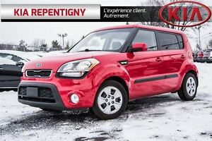 2012 Kia Soul 1.6L (A6)*A/C*BLUETOOTH*BANCS CHAUFFANTS*REGULATEU