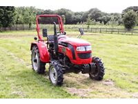 Foton 254R – 4WD 28HP Compact Tractor - Only 168 Hours Use! - Ag Tyres