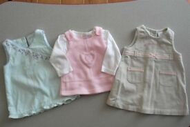 Bundle of clothes for tiny baby girl 0 - 3 months