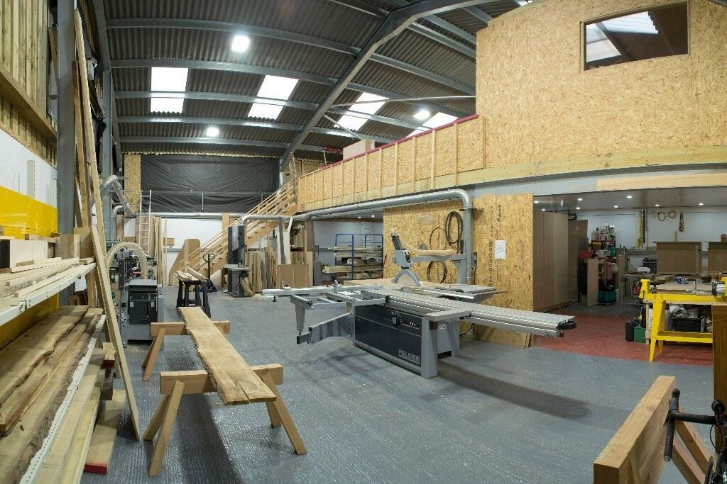 Shared Woodworking Workshop Space New Felder Machinery Furniture
