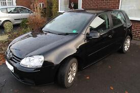 VW Golf Match TDI - Mark V - 2008 - Black
