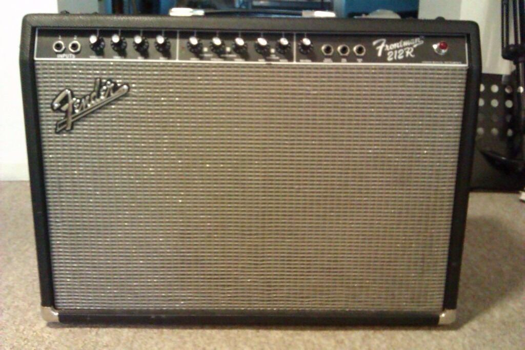 fender frontman 212r guitar amp in bath somerset gumtree. Black Bedroom Furniture Sets. Home Design Ideas
