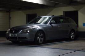 5 series BMW 525d semi auto full leather sat nav