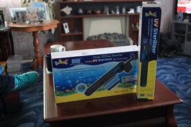 Aquarium UV steriliser and spare tube
