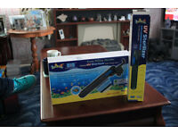 Aquarium UV steriliser and spare tube
