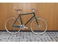 GOKU CYCLES Steel Frame Single speed road bike TRACK bike fixed gear fixie racing bike FKO