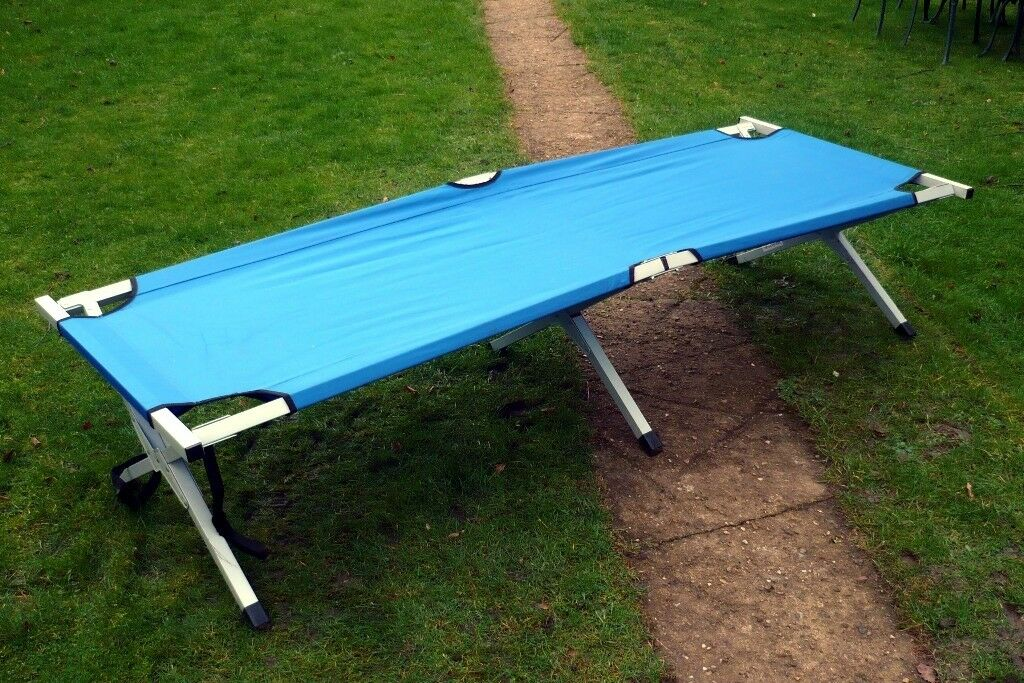 FOLDING CAMP BED IN BAG GOOD CONDITION