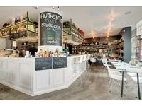 Kitchen Porter to start ASAP in an Italian Deli& Restaurant