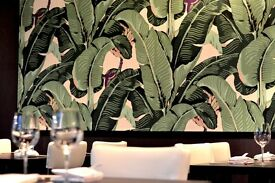 BANANA LEAF - Friendly Full Time Waiter and Waitress wanted in our friendly working environment !
