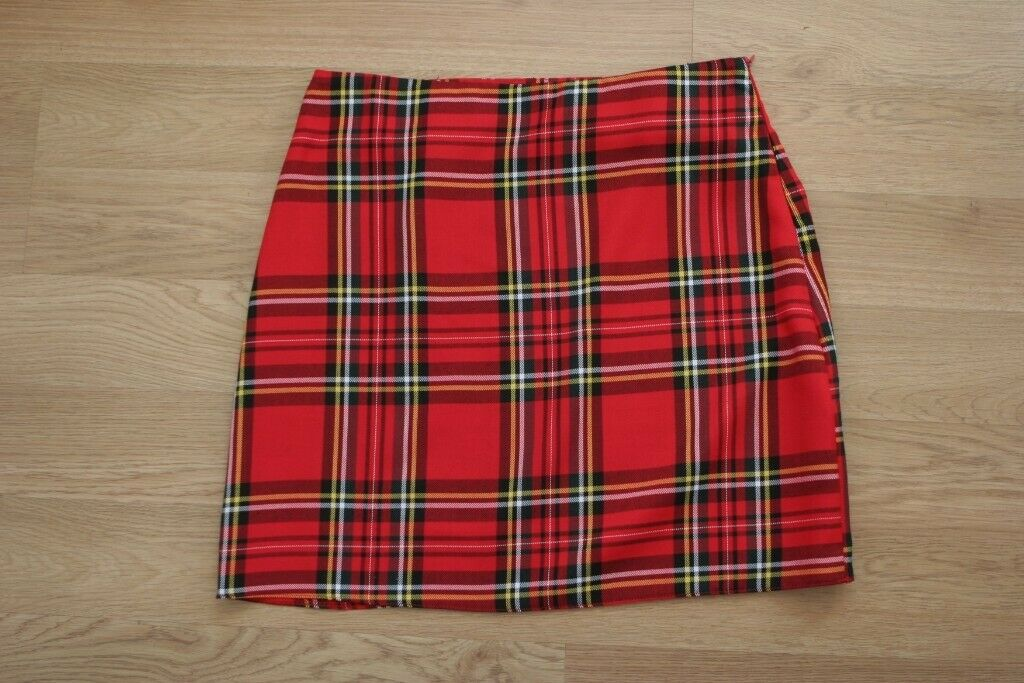 1c8edb42d2 New Look Red Tartan Skirt Size 12 Bnwt | in Torquay, Devon | Gumtree