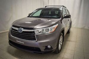 2015 Toyota Highlander Hybrid, Limited, 7 Passagers, AWD, Roues