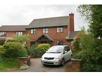 4 bed detached house to let for 8 months