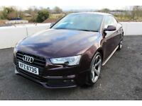 12 AUDI A5 2.0 TDI 177 S-LINE COUPE 'BLACK EDITION' 6 SPEED ++ HEATED LEATHER & £30 ROAD TAX ++