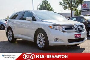 2009 Toyota Venza Base|LOW KM|LEATHER|HTD SEATS|PANOROOF