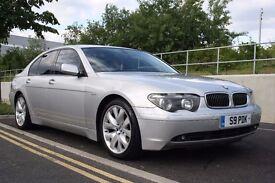 2004 BMW 7 SERIES 3.0 730d Sport Saloon 4dr Diesel Automatic, HUGE SPEC, 3 MONTHS WARRANTY, PX POSS